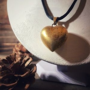 Jewelry - Harmony Bell Chime Heart Pendant Necklace
